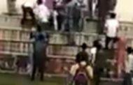 हमीरपुर में युवकों की सरेआम गुंडागर्दी,व्बायज स्कूल ग्राउंड में अकेले युवक पर हमला