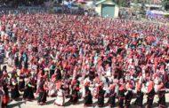 हजारों महिलाओं ने नाटी डालकर दिया स्वच्छता और पोषण का संदेश