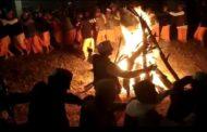 काव गीत के साथ आनी के ऐतिहासिक मंदिर ओलवा में मनाई गई अलग सी दीपावली