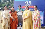 एथलीट प्रतियोगिता में छात्रा हरनूर ने जीता सिल्वर मैडल