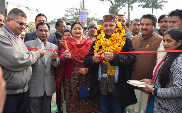 वीरेंद्र कंवर ने किया खादी ग्रामोद्योग की राज्य स्तरीय प्रदर्शनी का शुभारंभ