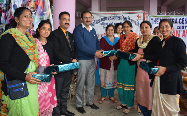 सशक्त महिला योजना के तहत जागरूकता शिविर आयोजित
