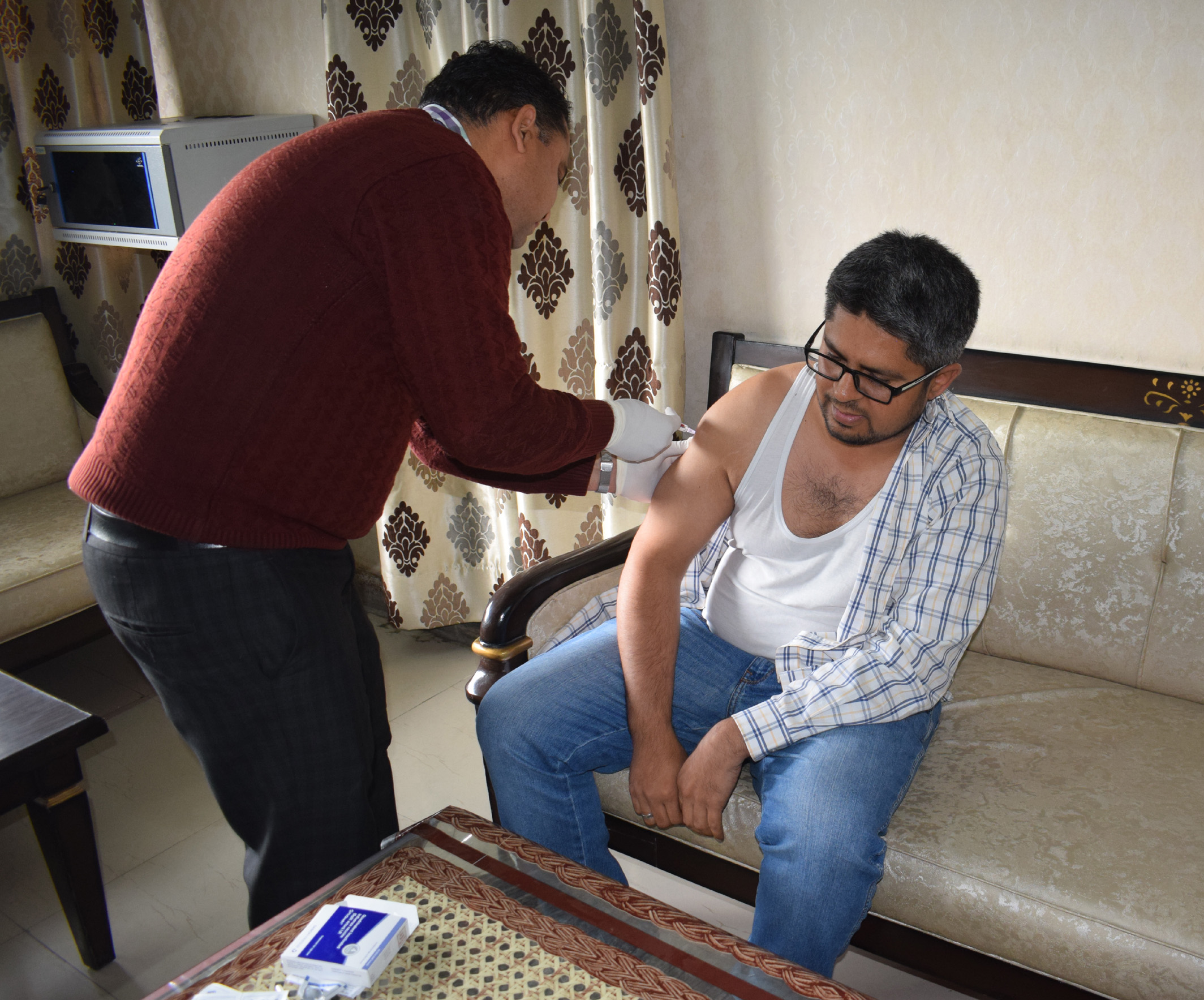 स्वाईन फ्लू से बचाव हेतु विशेष टीकाकरण अभियान शुरू