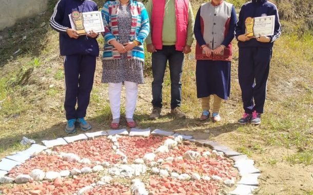 अटल बिहारी राजकीय महाविद्यालय बंगाणा की अनु वाला और शालू देवी ने राष्ट्रीय एकता शिविर में लिया भाग