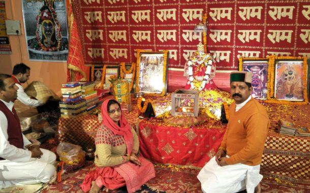 धौमेश्वर सदाशिव मंदिर तलमेहड़ा में सुंदरकांड पाठ का हुआ समापन