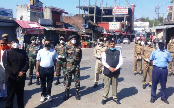 ग्रामीण विकास एवं पंचायती राज मंत्री वीरेंद्र कंवर ने कोरोना योद्धाओं का बढ़ाया हौसला