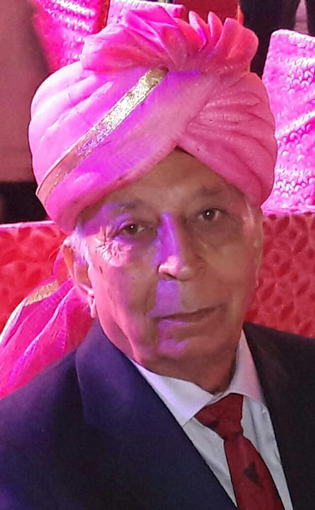 वेब न्यूज़ पोर्टल के एडिटर इन चीफ व बरिष्ठ पत्रकार राजन चब्बा के पूज्य पिता शाम लाल चब्बा (82) का हुआ निधन