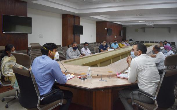जिला में 20 अप्रैल से गेहूँ खरीद के सभी प्रबंध मुकम्मल, डीसी ने मण्ड़ी सचिवों के साथ तैयारियों की समीक्षा कर दिए जरूरी दिशा-निर्देश