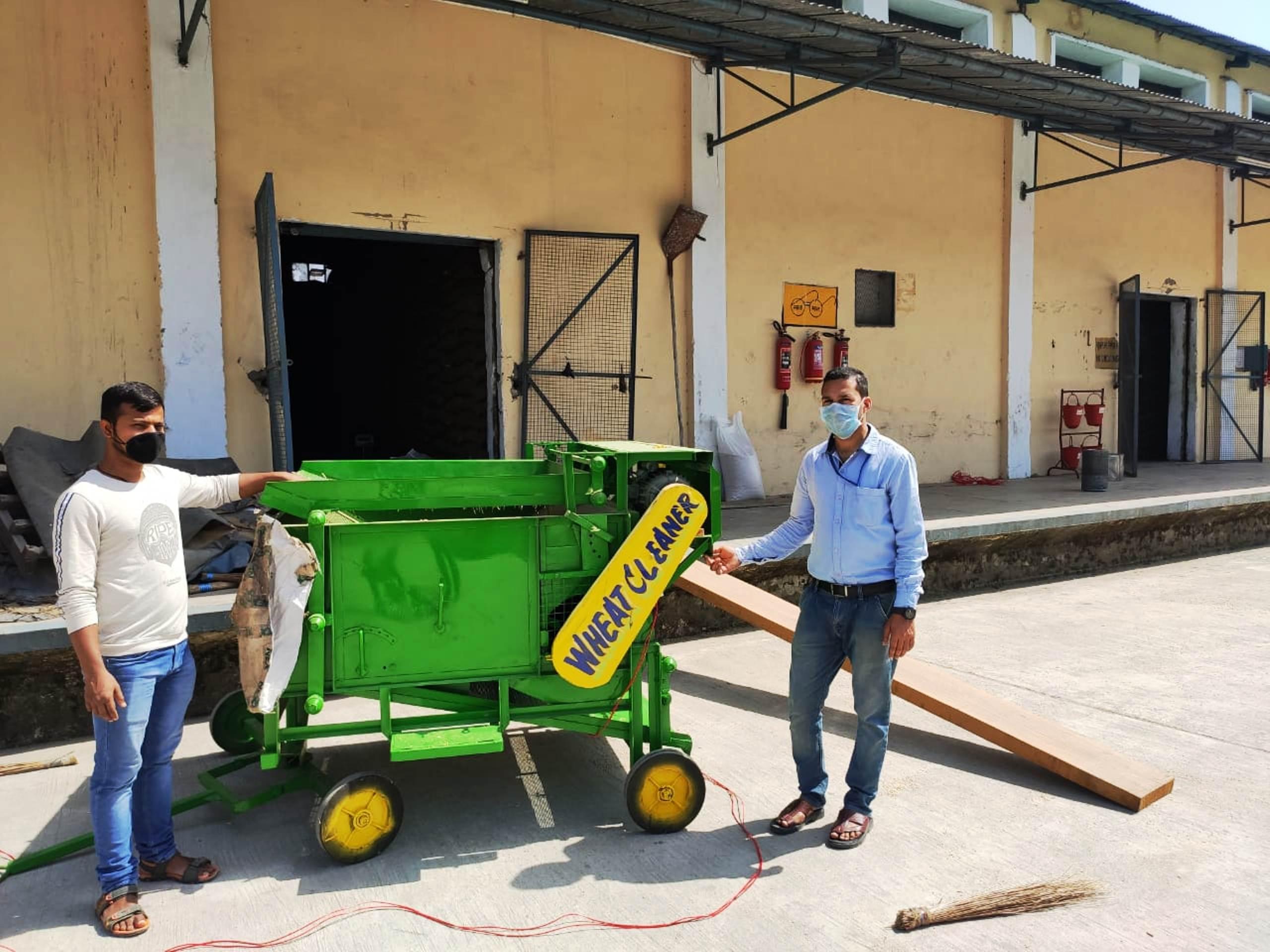 किसानों को सुविधा, एफसीआई जलग्रां में भी शुरू हुई गेहूं की खरीद