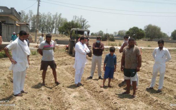 सरकार पीड़ित किसानों को जल्द मुआवजा प्रदान करे : डॉ0 पंवार