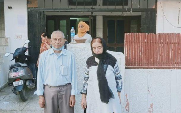 एसडीएम की जांच से मिला वृद्ध दंपति को इन्साफ