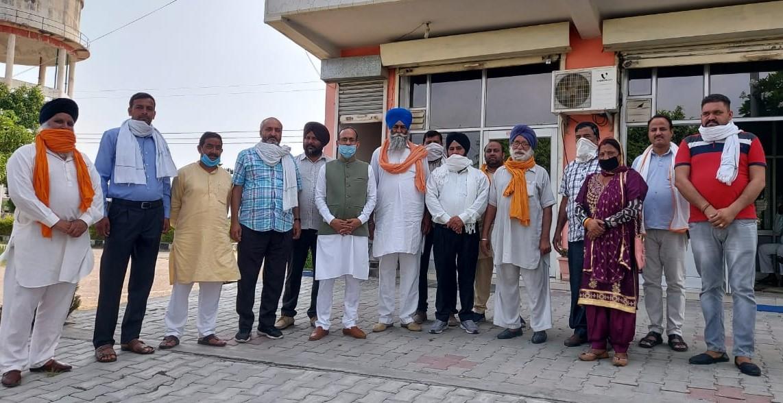 भारतीय जनता किसान मोर्चा ऊना मंडल के अध्यक्ष परमजीत सिंह ने कार्यकारिणी की घोषणा की