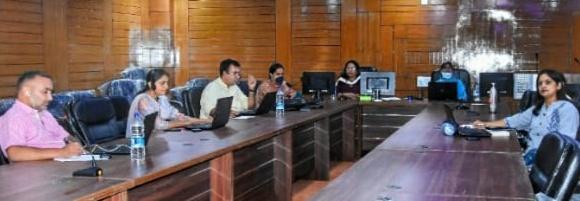 अटल बिहारी बाजपेई राजकीय महाविद्यालय बंगाणा में राष्ट्रीय शिक्षा नीति 2020 विषय पर बेबिनार का किया आयोजन