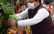 विजय दिवस पर ग्रामीण विकास मंत्री वीरेंद्र कंवर ने शहीदों को अर्पित की पुष्पांजति