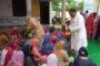 कांग्रेसजिलाप्रधान राणा रणजीत सिंह नेपंजावरमें राष्ट्रपिता महात्मा गांधी व पूर्व प्रधानमंत्री स्वर्गीय लाल बहादुर शास्त्री की जयंती परफल व मिठाईयां बांटी